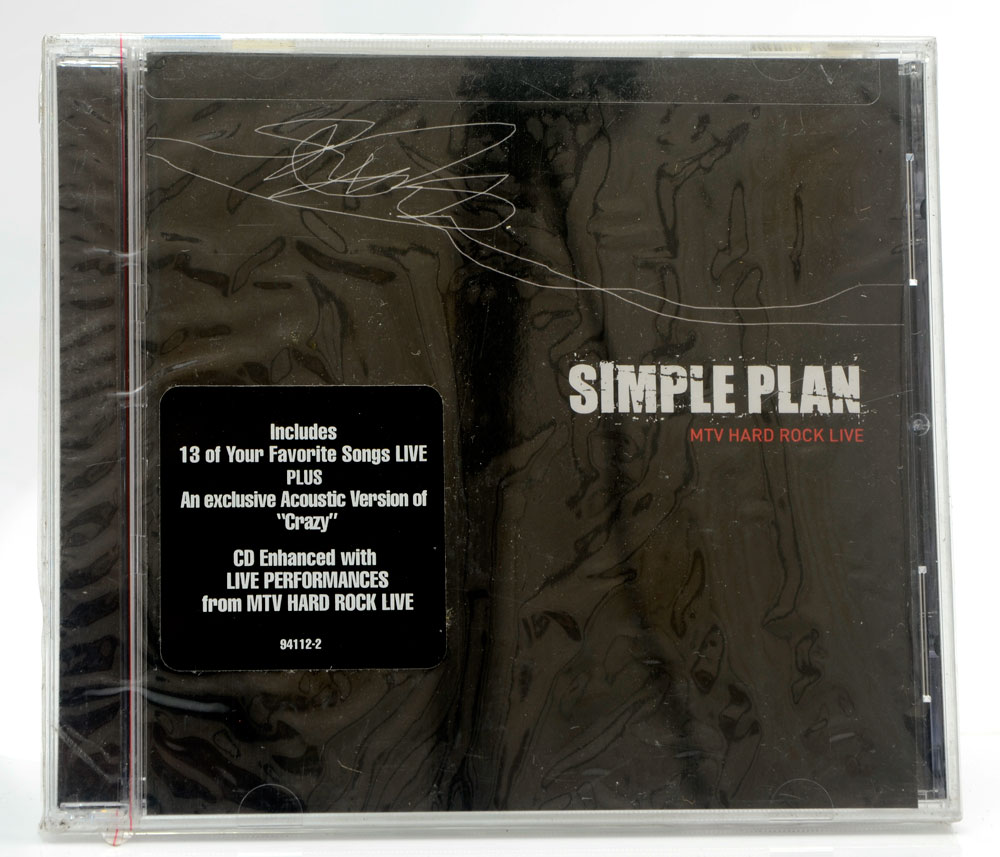 CD Simple Plan - MTV Hard Rock Live - Importado - Lacrado