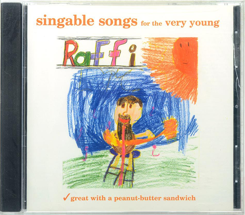 CD Singable Songs For The Very Young - Lacrado - Importado