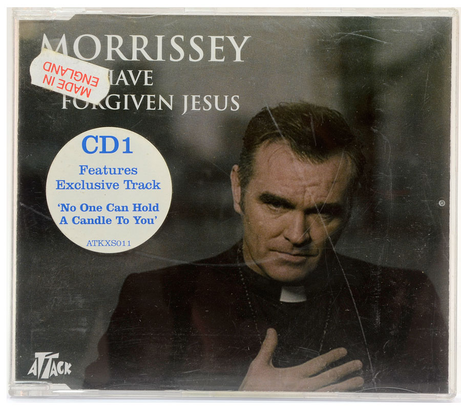 CD Single Morrissey - I Have Forgiven Jesus - Importado