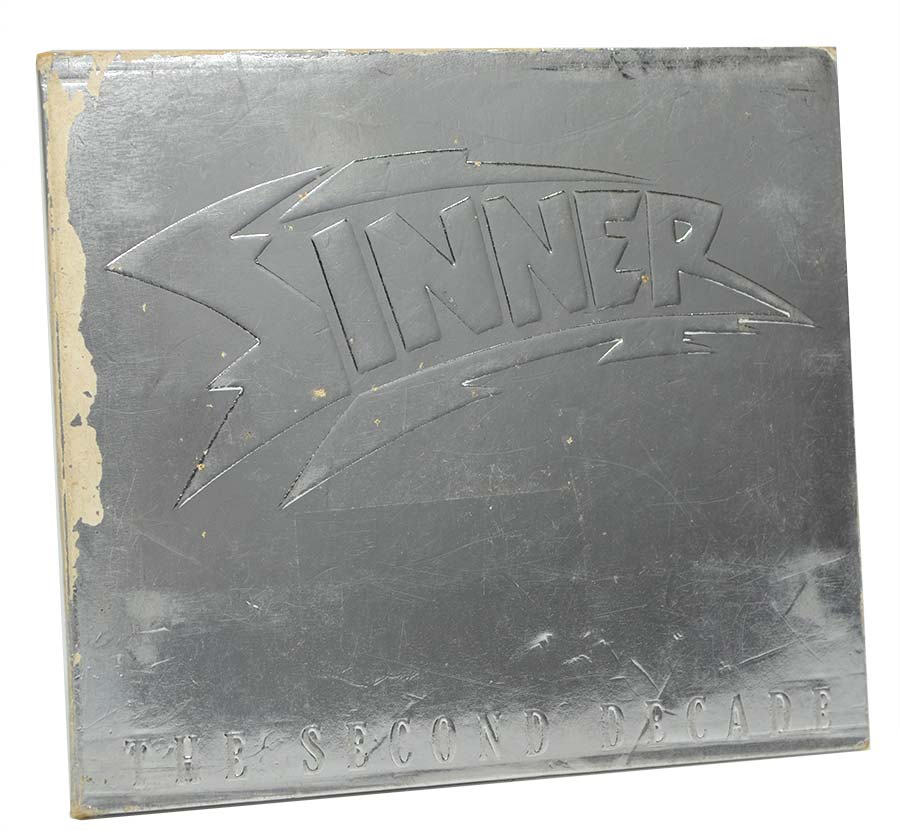 Cd Sinner - The Second Decade - Importado