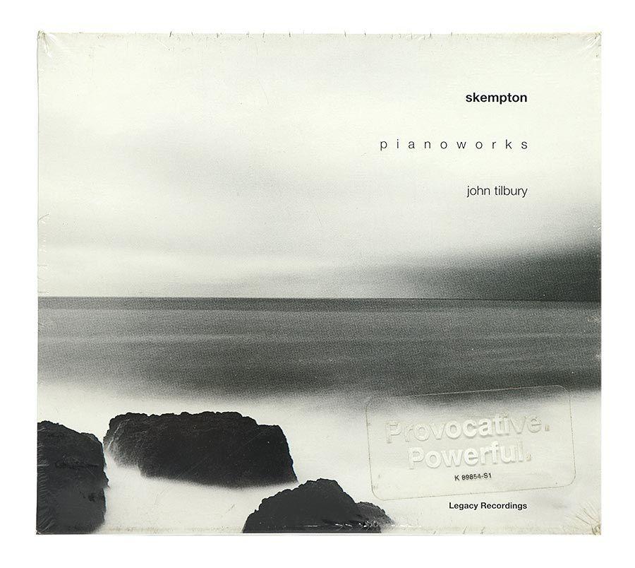 Cd Skempton - Pianoworks John Tilbury - Importado - Lacrado