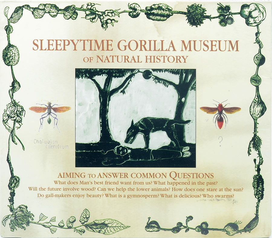 CD Sleepytime Gorilla Museum Of Natural History - Lacrado - Importado