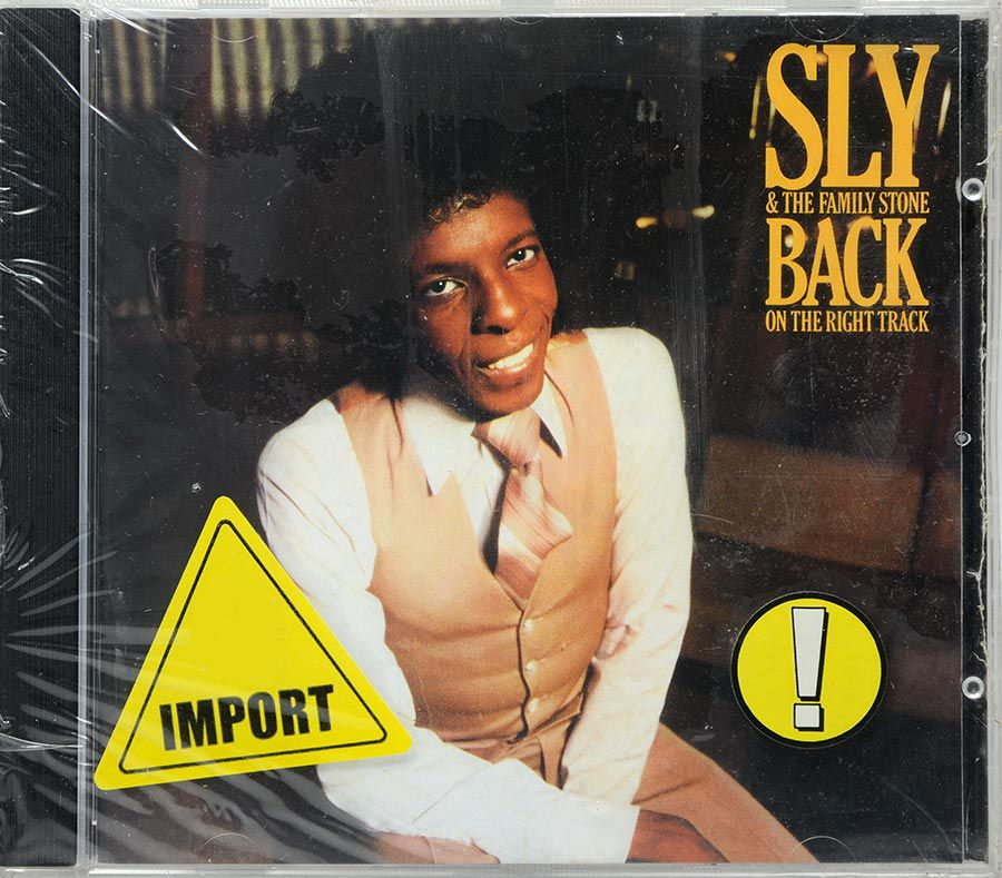 CD Sly & The Family Stone - Back On The Right Track - Lacrado - Importado