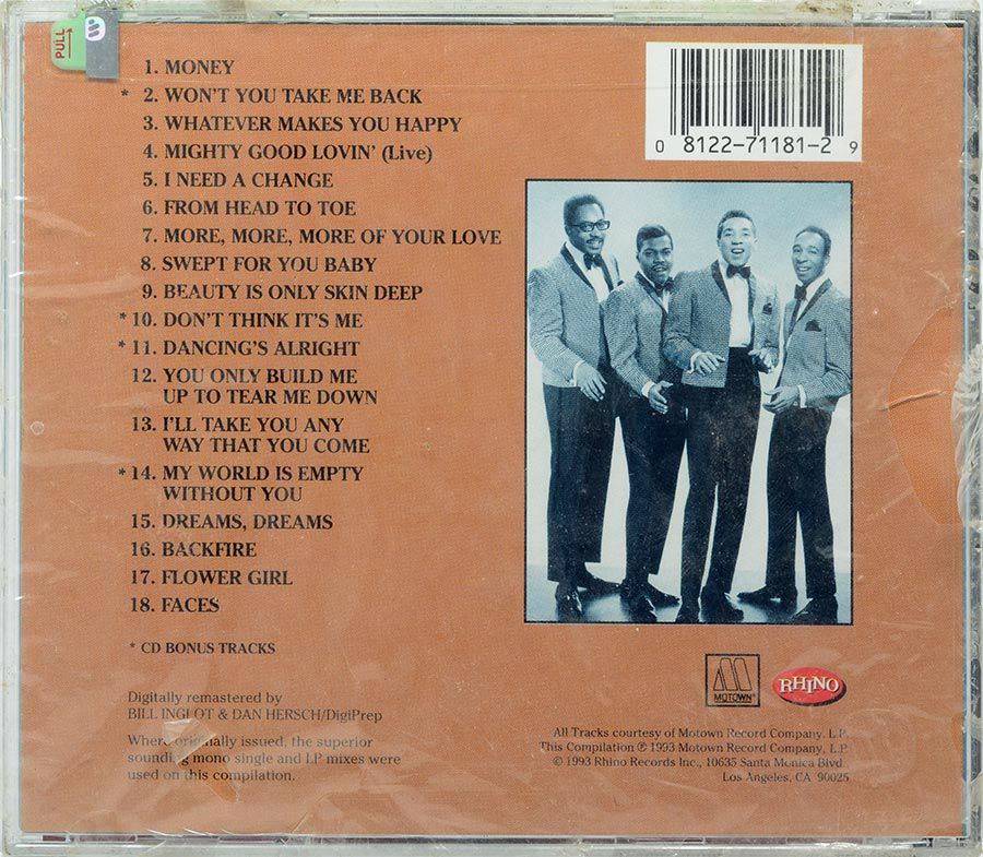 CD Smokey Robinson & The Miracles - Whatever Makes You Happy - Lacrado - Importado