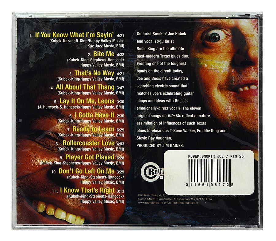 CD Smokin Joe Kubek - Bite Me - Importado - Lacrado
