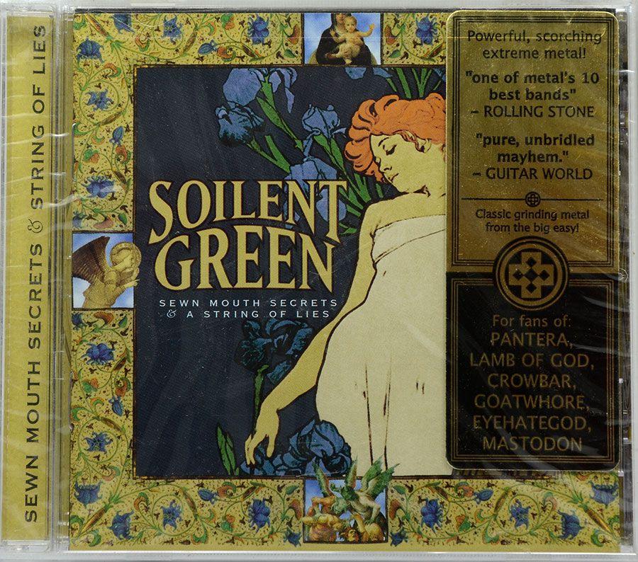 CD Soilent Green - Sewn Mouth Secrets A string Of Lies - Lacrado - Importado