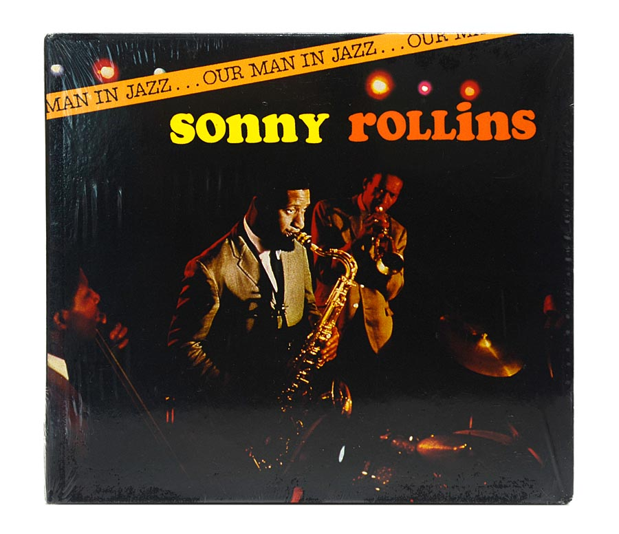 CD Sonny Rollins - Our Man In Jazz - Digipack Importado Lacrado