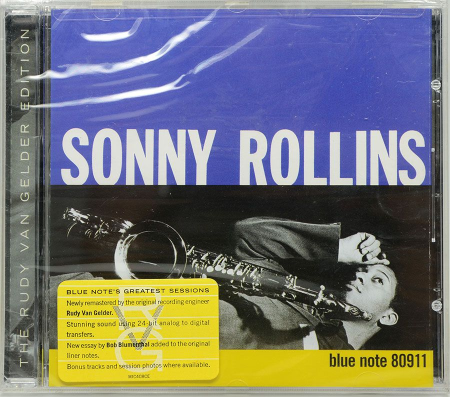 CD Sonny Rollins - Volume One - Lacrado - Importado