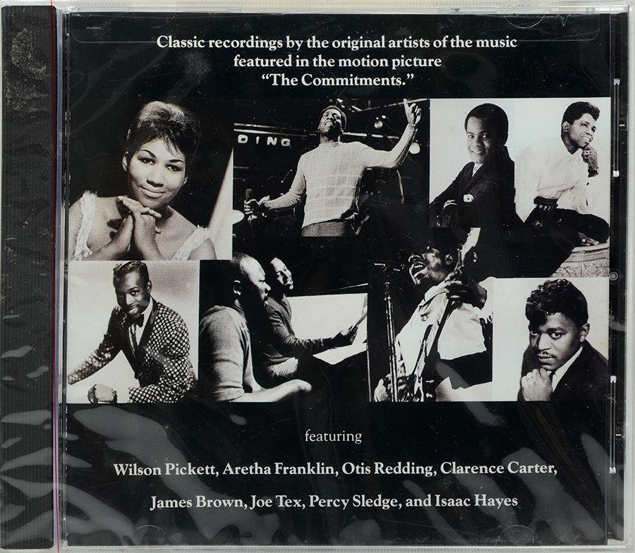 CD Soul Classics - The Commitments - Lacrado - Importado