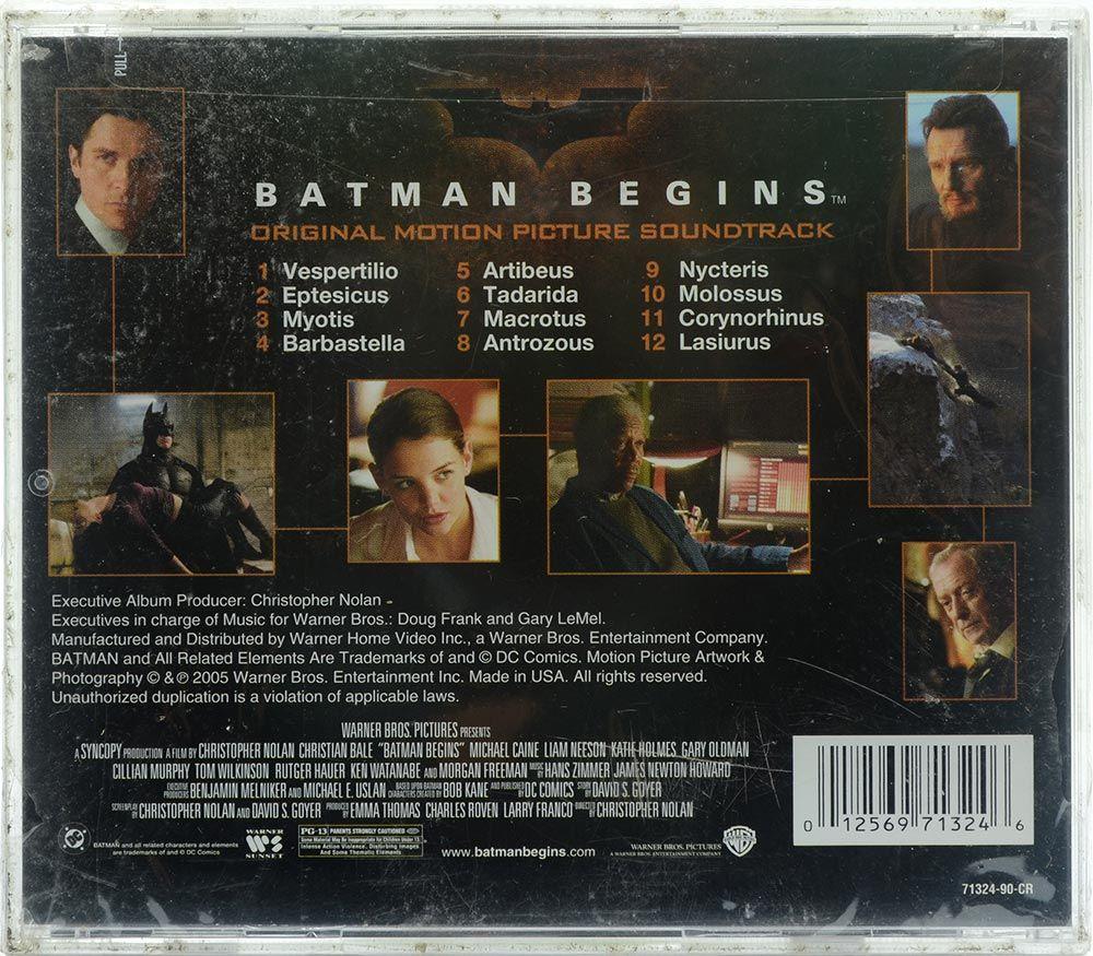 CD Soundtrack Batman Begins - Hans Zimmer - Importado - Lacrado
