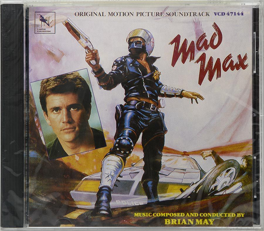 CD Soundtrack Mad Max - Brian May - Lacrado - Importado