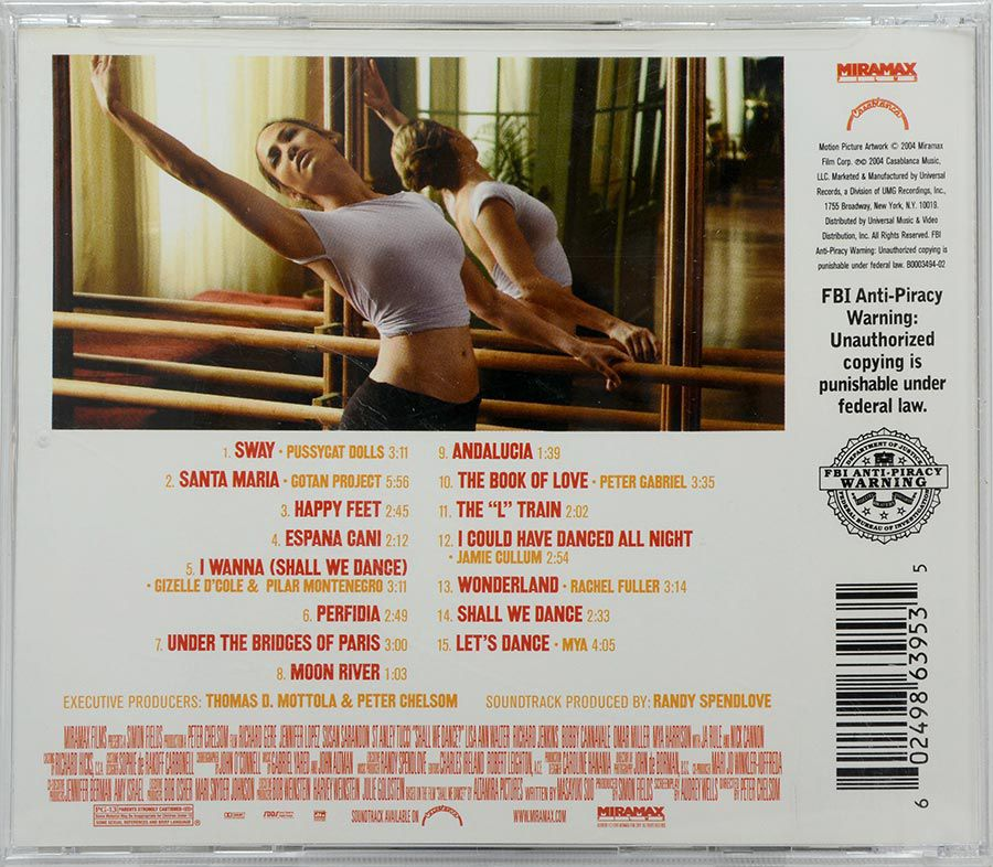 CD Soundtrack Shall We Dance? - Lacrado - Importado