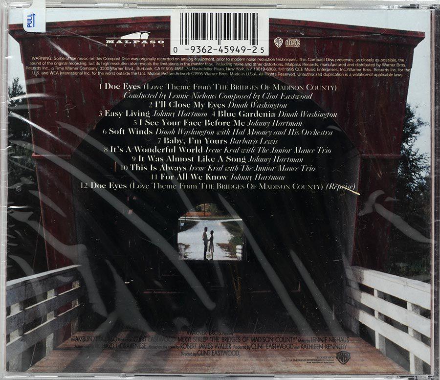 CD Soundtrack The Bridges Of Madison County - Lacrado - Importado
