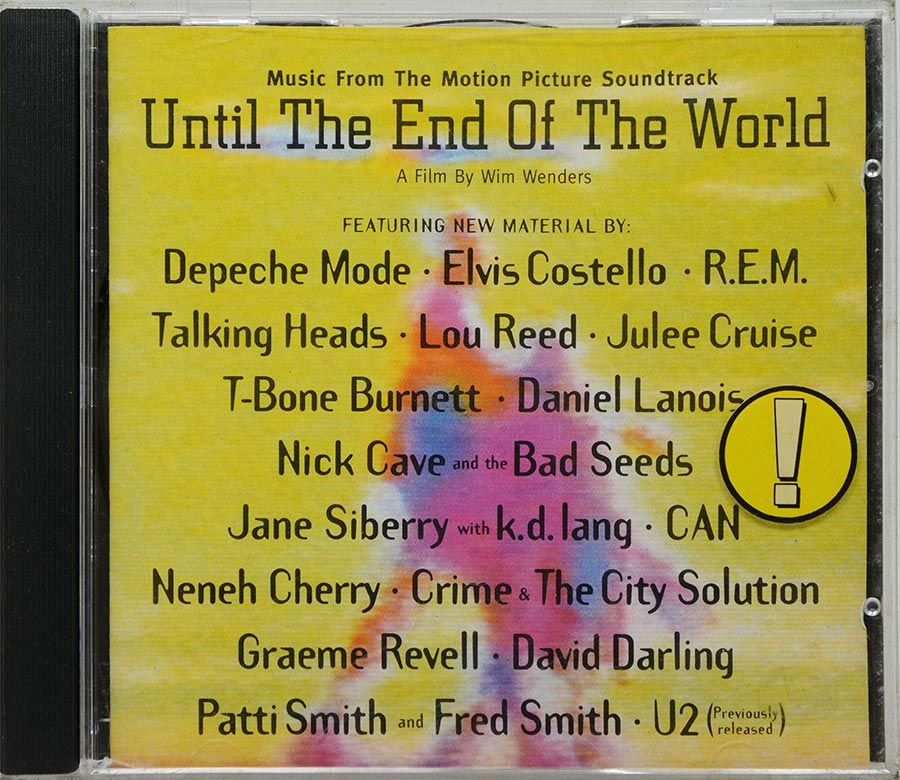 CD Soundtrack Until The End Of The World - Importado