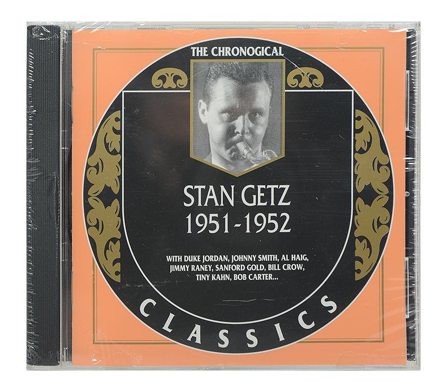 Cd Stan Getz - 1951-1952 - Importado - Lacrado