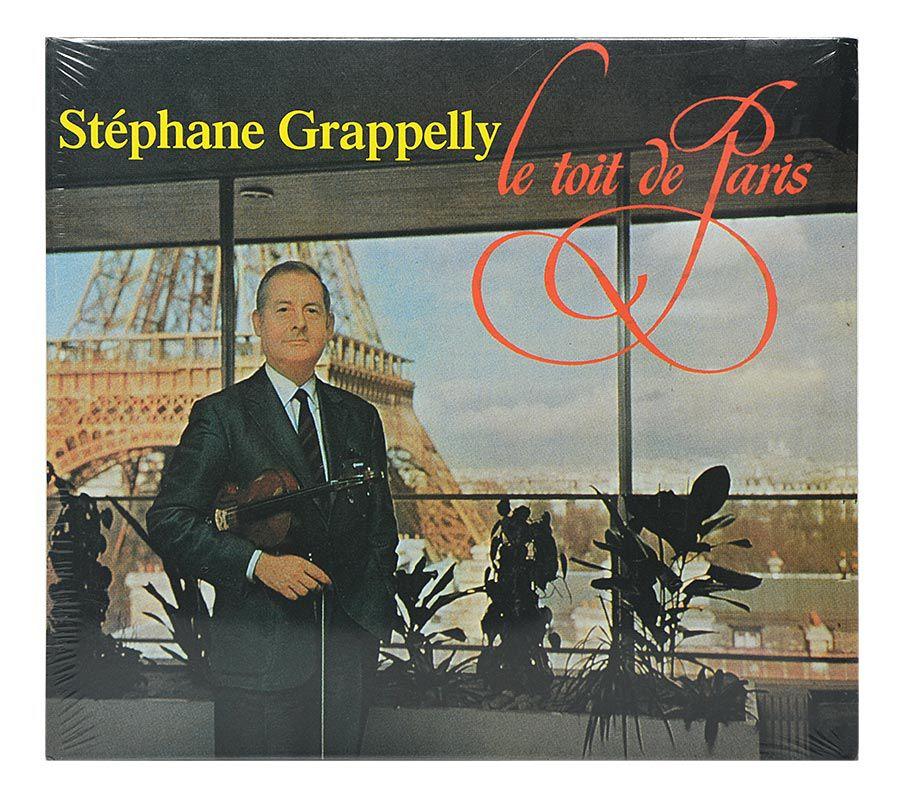 Cd Stéphane Grappelli - Le Toit de Paris - Importado Digipack - Lacrado
