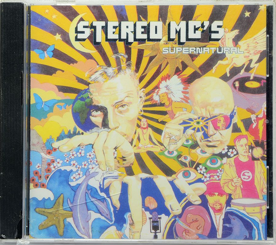 CD Stereo Mc's - Supernatural - Lacrado - Importado