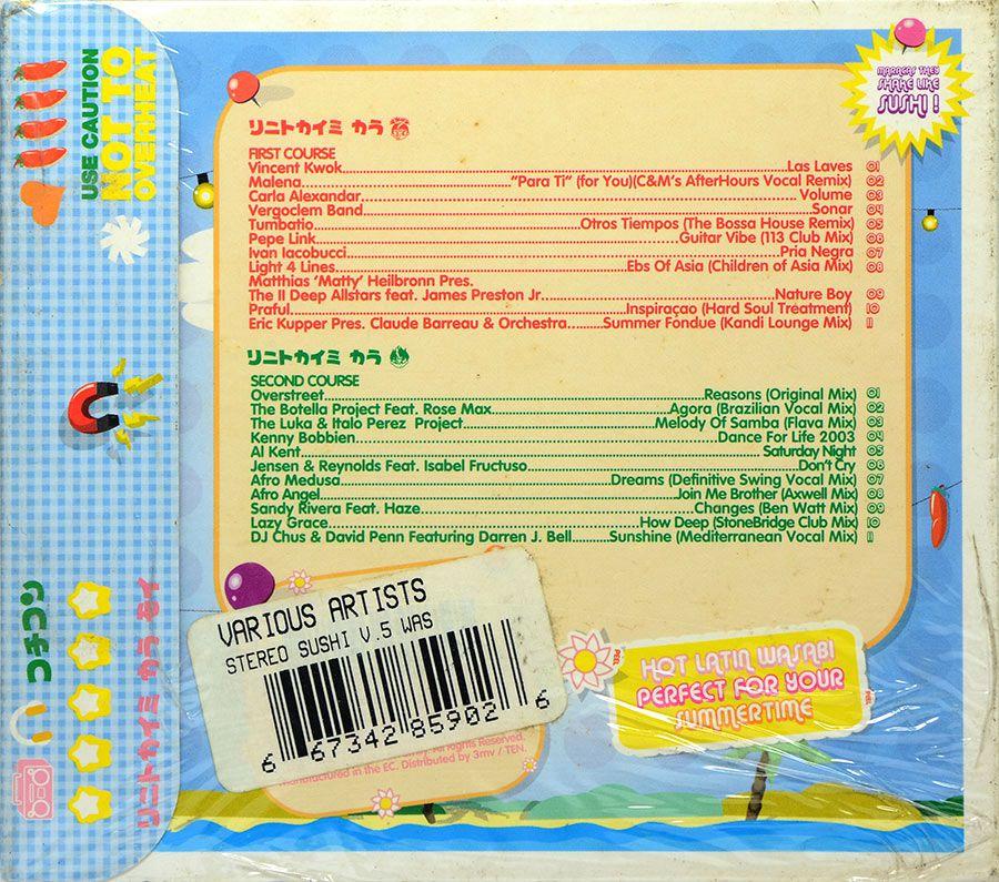 CD Stereo Sushi - Cat No: STUSHCD 05 - Lacrado - Importado