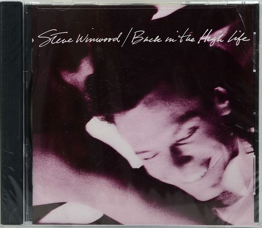 CD Steve Winwood - Back In The High Life - Lacrado - Importado