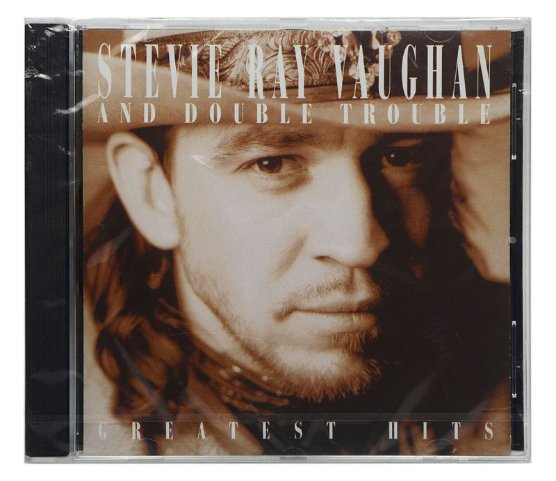 CD Stevie Ray Vaughan and Double Trouble - Greatest Hits - Importado - Lacrado