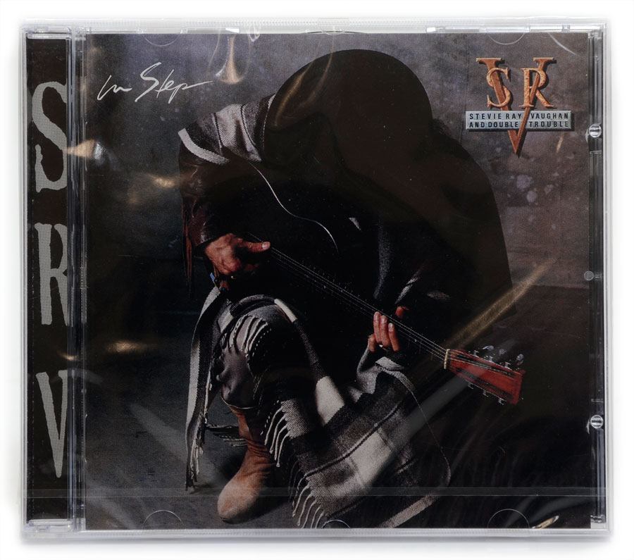 CD Stevie Ray Vaughan and Double Trouble - In Step - Importado - Lacrado