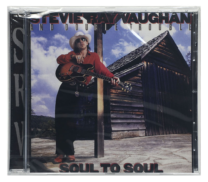 CD Stevie Ray Vaughan and Double Trouble - Soul To soul - Importado - Lacrado