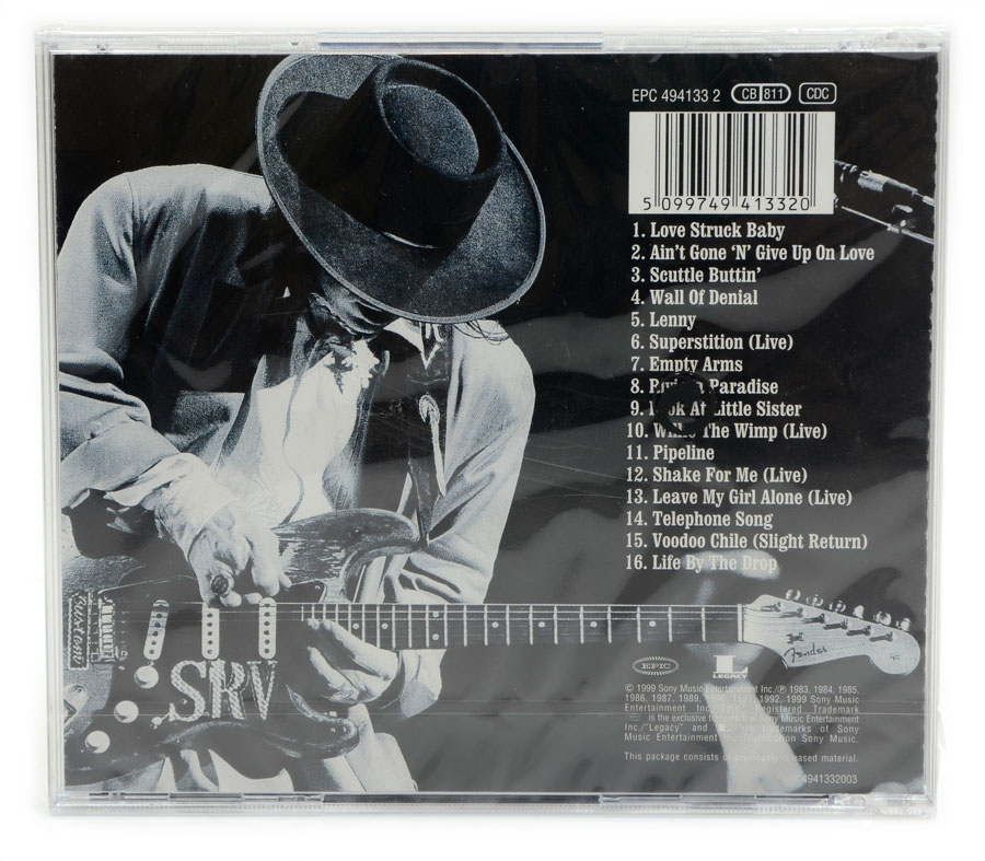CD Stevie Ray Vaughan - The Real Deal: Greatest Hits 2 - Importado - Lacrado