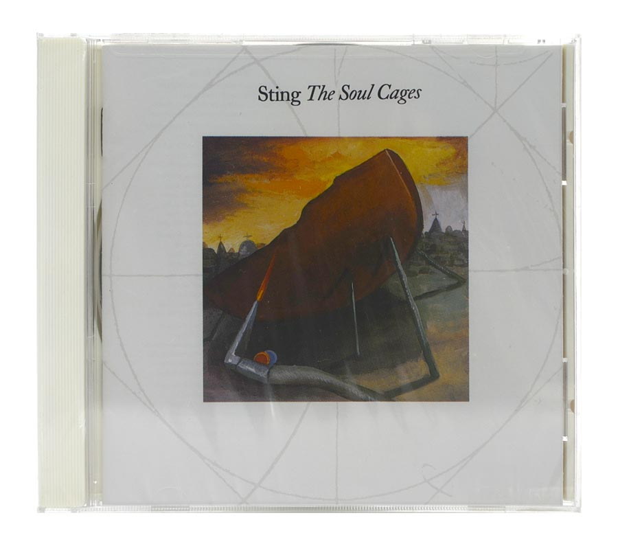 CD Sting - The Soul Cages  - Importado - Lacrado