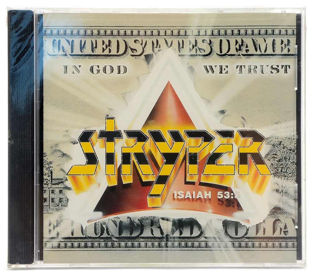 CD Stryper - In God We Trust - Importado - Lacrado