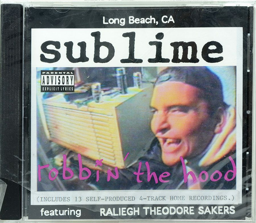 CD Sublime - Robbin The Hood - Lacrado - Importado