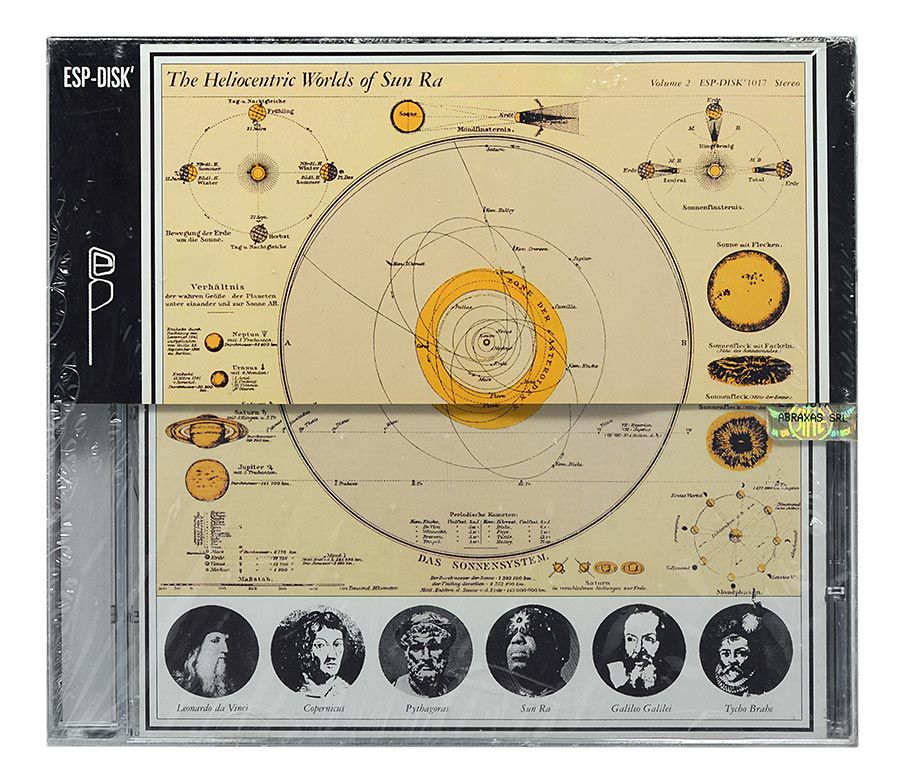 CD Sun Ra - The Heliocentric Worlds Of Sun Ra Vol. 2 - Importado - Lacrado