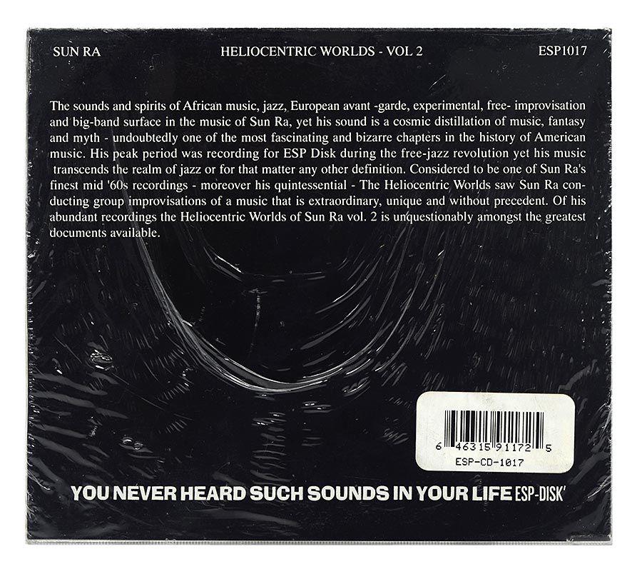 CD Sun Ra - The Heliocentric Worlds Of Sun Ra Vol. 2 - Importado - Lacrado