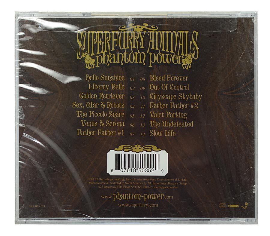 CD Super Furry Animals - Phanton Power - Importado - Lacrado