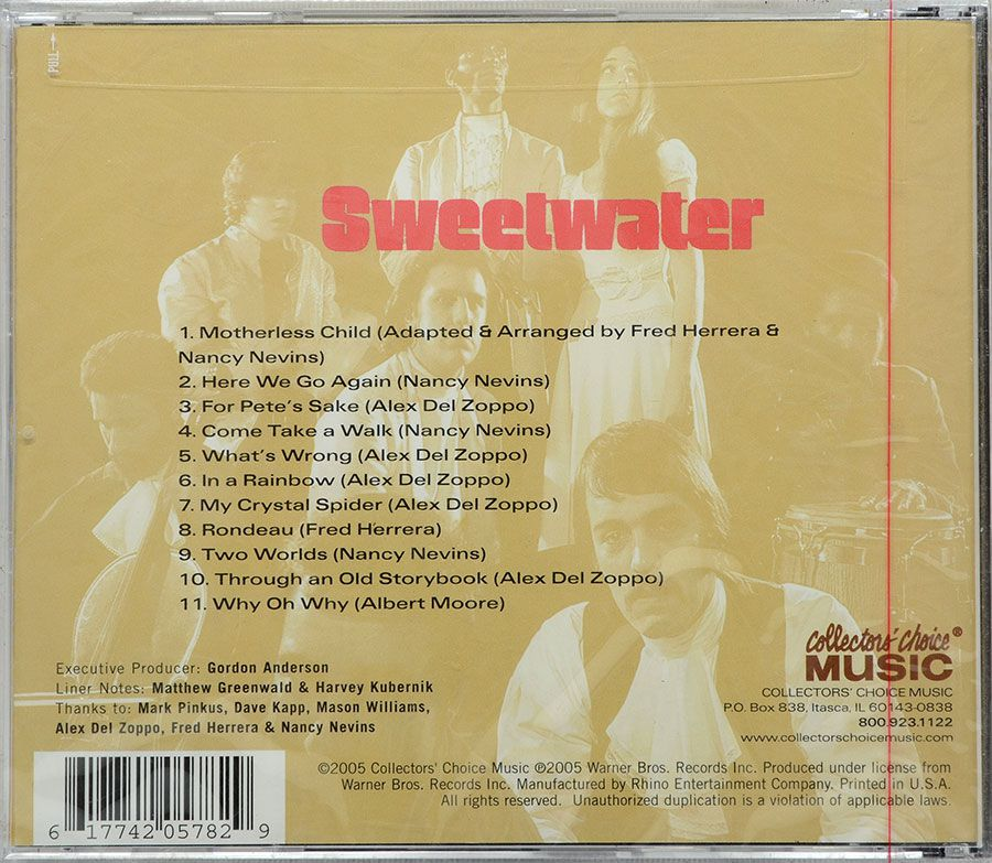 CD Sweetwater - Sweetwater - Lacrado - Importado