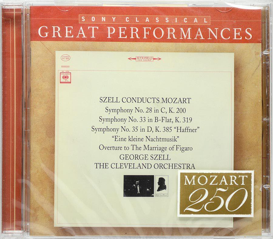 CD Szell - Mozart: Symphonies 28, 33 & 35 - Lacrado - Importado