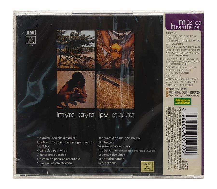 CD Taiguara - Imyra, Tayra, Ipy, Taiguara  - Importado JAPAN - Lacrado
