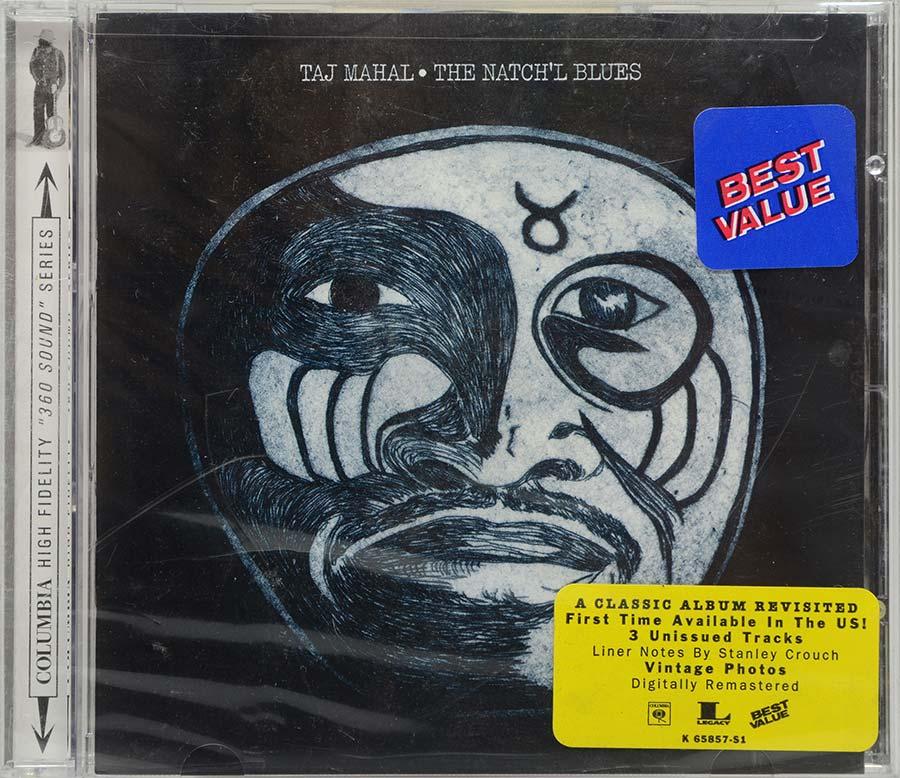 Cd Taj Mahal - The Natch'l Blues - Lacrado - Importado