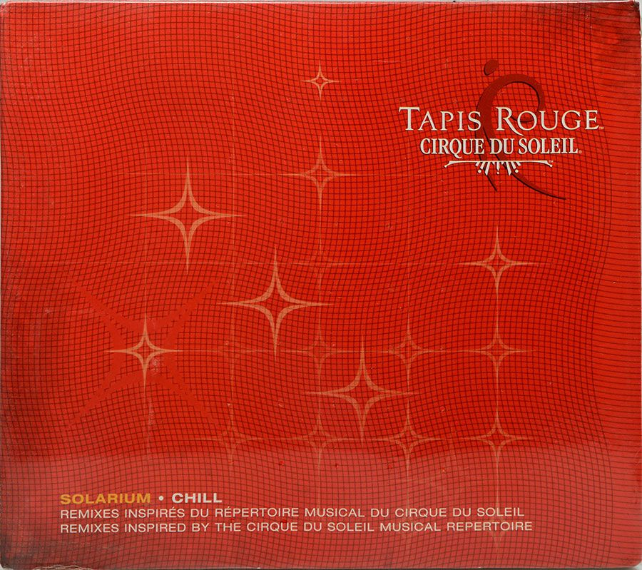CD Tapis Rouge - Cirque Du Soleil - Lacrado - Importado