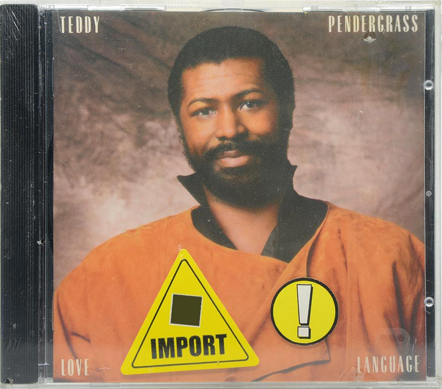 CD Teddy Pendergrass - Love Language - Lacrado - Importado