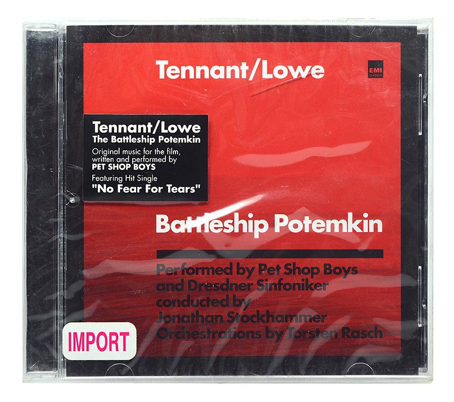 CD Tennant / Lowe - The Battleship Potemkin - Importado - Lacrado