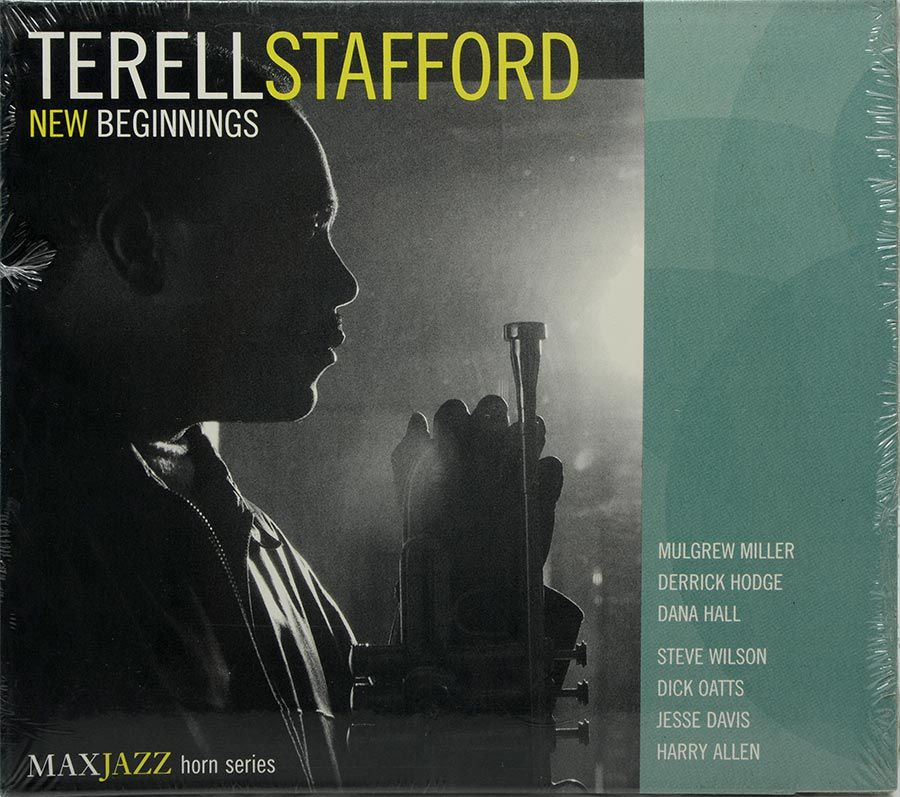 CD Terell Stafford - New Beginnings - Lacrado - Importado
