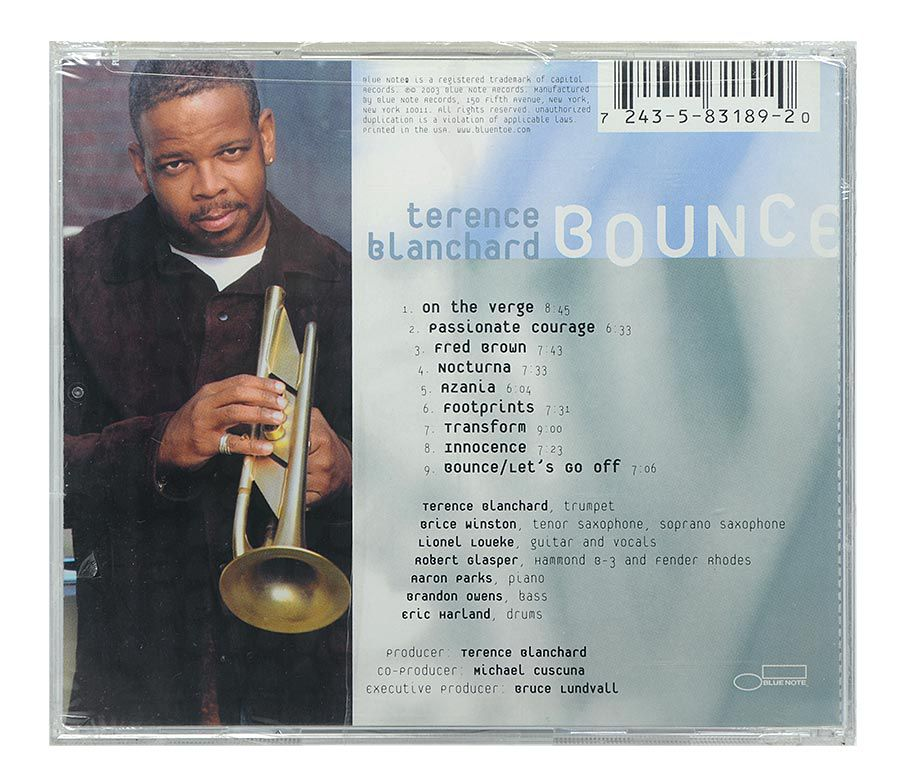 Cd Terence Blanchard - Bounce - Importado - Lacrado