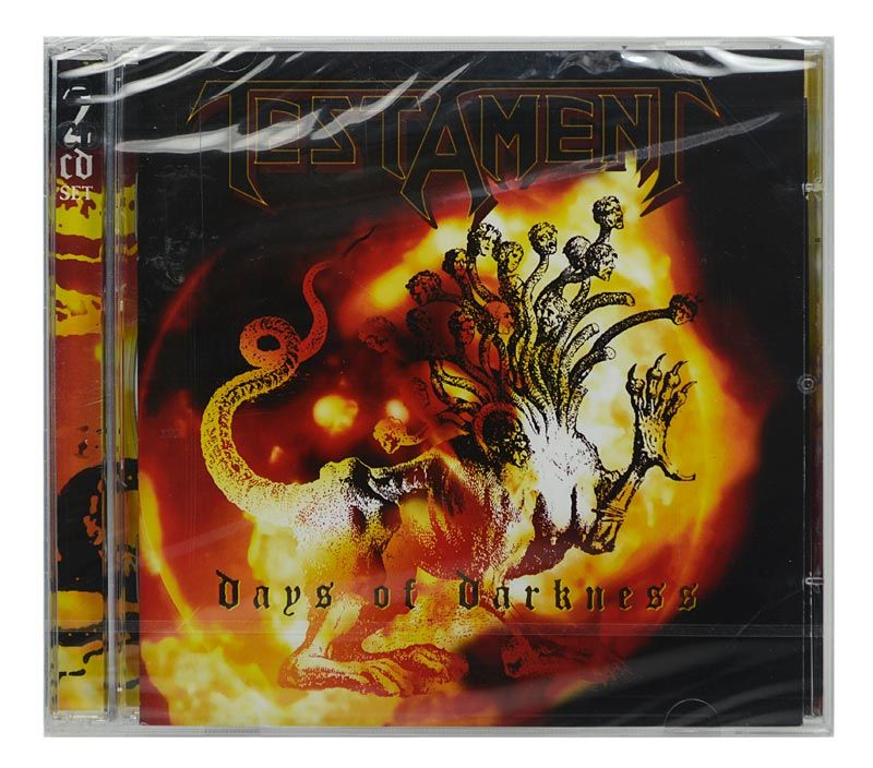 CD Testament - Days Of Darkness - Duplo - Importado - Lacrado