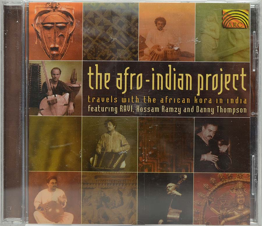 Cd The Afro-Indian Project - Ravi - Lacrado - Importado