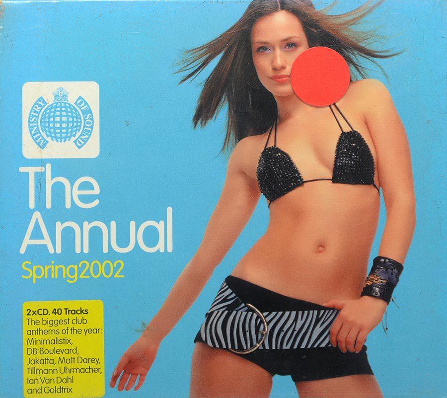 CD The Annual Spring 2002 - Ministry Of Sound - Lacrado - Importado