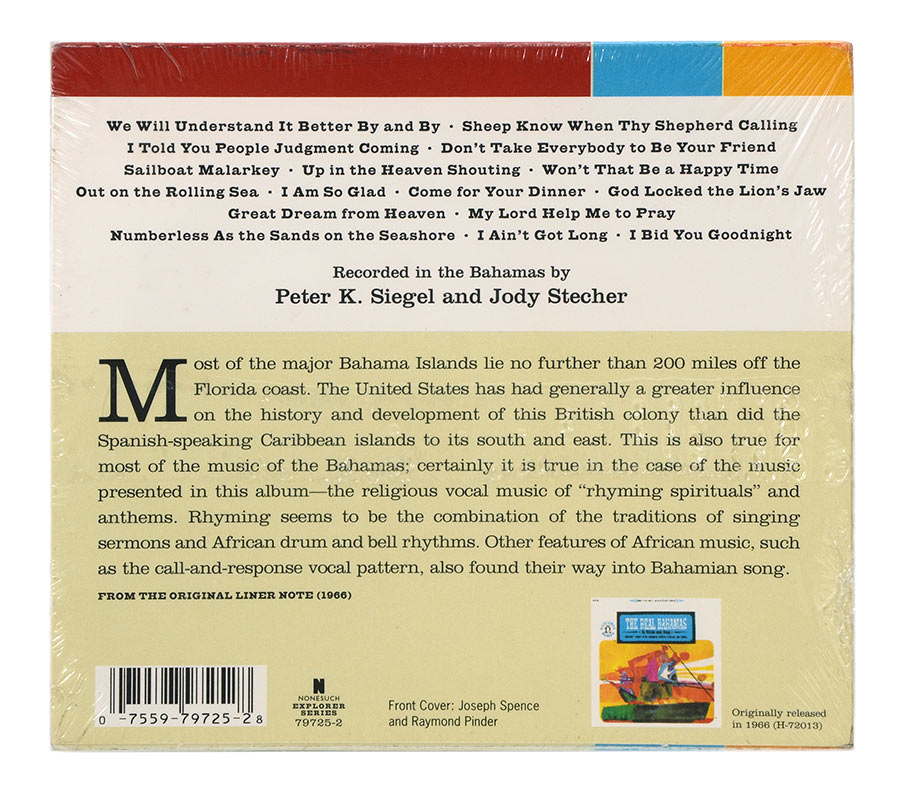 Cd The Bahamas - The Real Bahamas in Music and Song - Importado - Lacrado