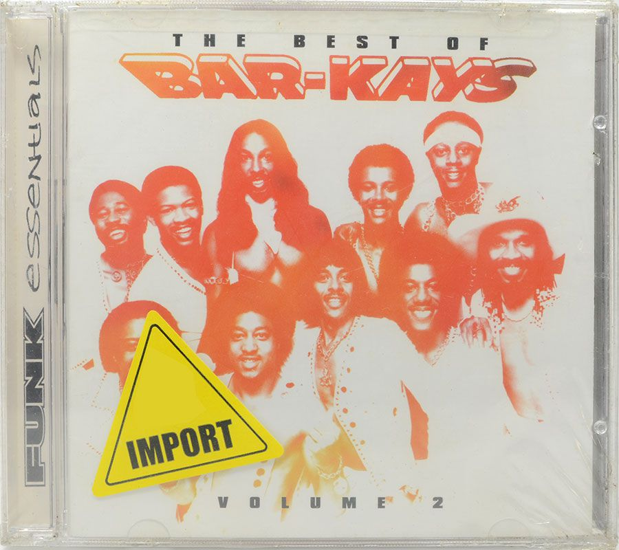 CD The Best Of Bar-Kays - Essentials Funk - Lacrado - Importado