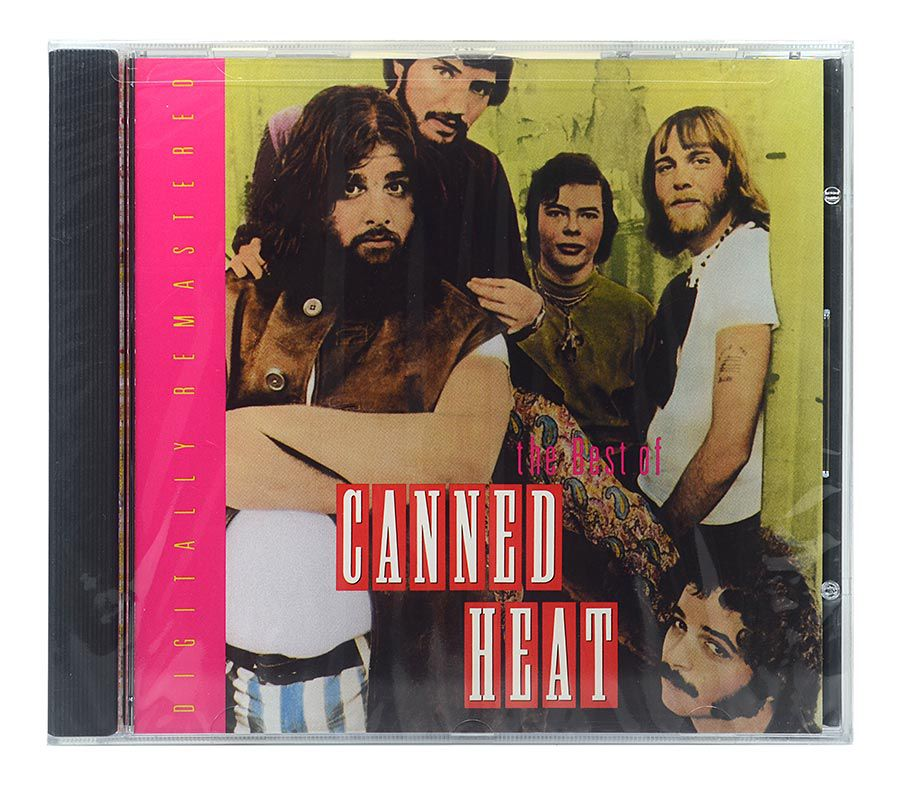 CD The Best Of Canned Heat - Importado - Lacrado