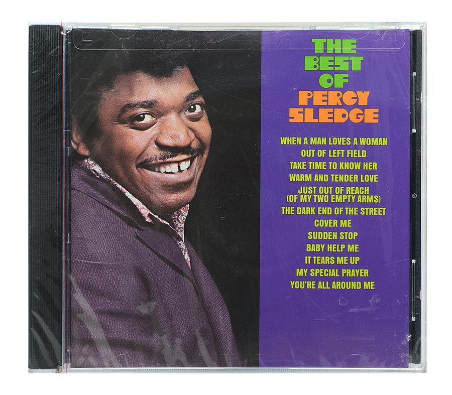 CD The Best Of Percy Sledge - Importado - Lacrado