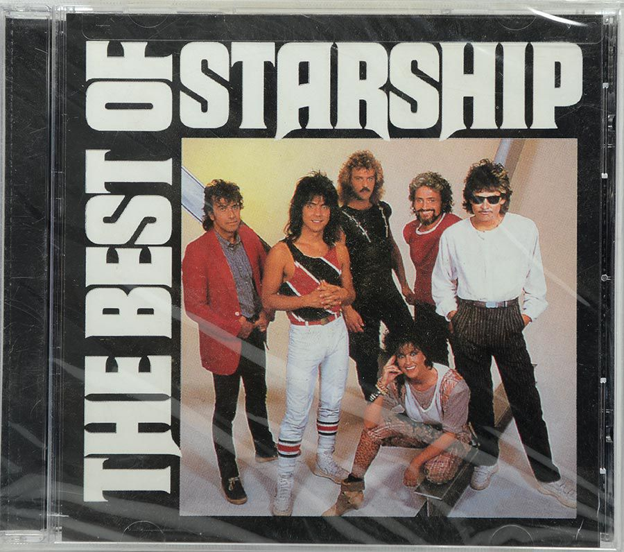CD The Best Of Starship - Lacrado - Importado